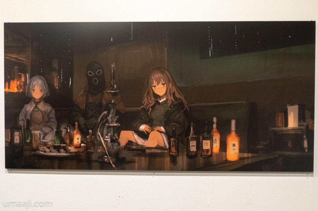 LM7 LQE 005 1024x682 - LM7氏の初個展「LAVENDER QUARTZ EXHIBITION」フォトレポート