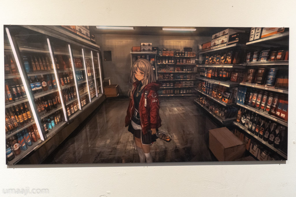 LM7 LQE 008 1024x682 - LM7氏の初個展「LAVENDER QUARTZ EXHIBITION」フォトレポート