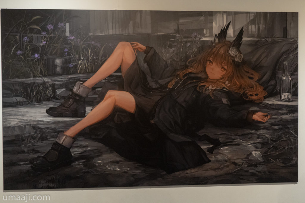 LM7 LQE 021 1024x682 - LM7氏の初個展「LAVENDER QUARTZ EXHIBITION」フォトレポート