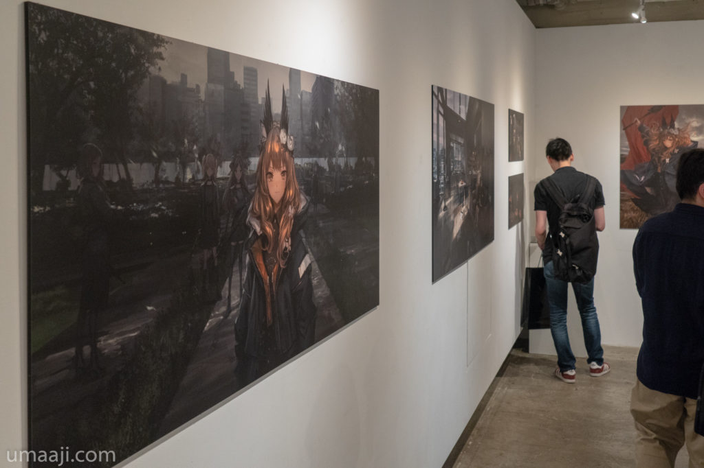 LM7 LQE 031 1024x682 - LM7氏の初個展「LAVENDER QUARTZ EXHIBITION」フォトレポート