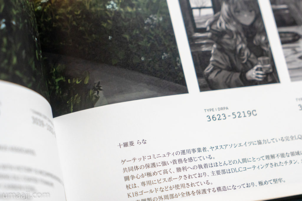 LM7 LQE book 005 1024x682 - LM7氏の初個展「LAVENDER QUARTZ EXHIBITION」フォトレポート